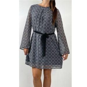 TOKITO Boho Print Belted Dress Plus Size AU 16